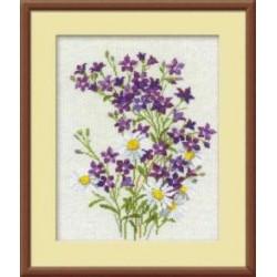 1044 Фиолетовые колокольчики (Риолис)