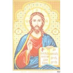 """716 Рисунок на канве """"Господь Вседержитель"""" (Искусница)"""