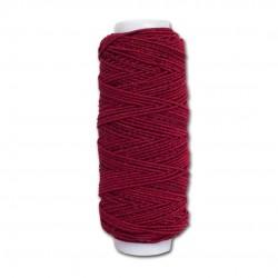 Нитка-резинка (спандекс) бордовая