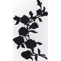 """0012 Термоаппликация """"Цветы"""""""