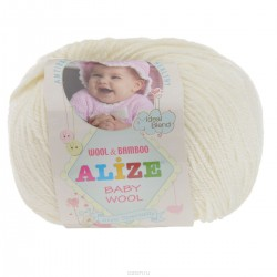 62 Baby  wool (Alize)