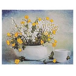 """""""Полевые цветы в чайнике"""""""