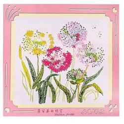 """Набор для вышивания лентами """"Цветы"""""""