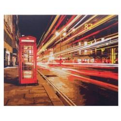 """Рисование по номерам """"Ночной Лондон"""""""