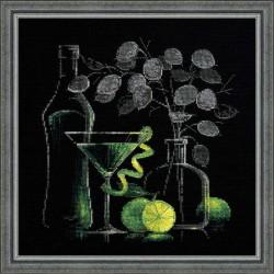 Натюрморт с мартини.