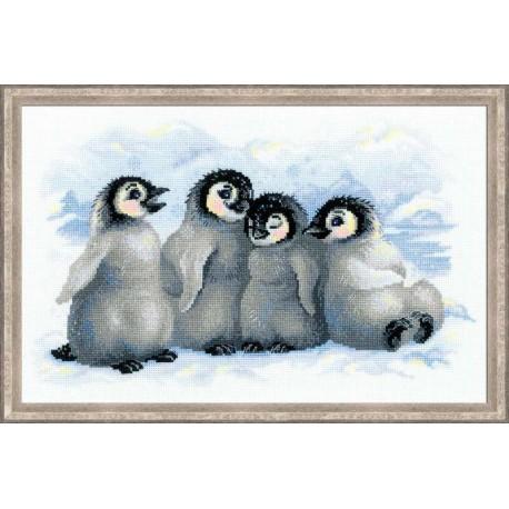 Забавные пингвины.
