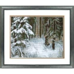 532 Сугробы в лесу (Чаривна Мить)