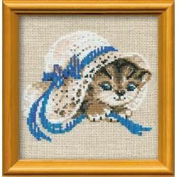 """748 """"Котёнок в шляпе"""" (Риолис)"""