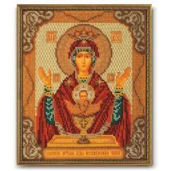 """Б-165 """"Богородица Неупиваемая Чаша"""" (Кроше)"""