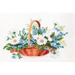 """Набор для вышивания  """" Полевые цветы."""""""