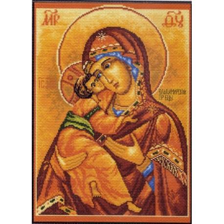 Набор для вышивания   Владимирская Богородица