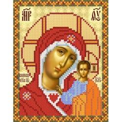 РИП-5202 Богородица Казанская. Рисунок на шёлке.