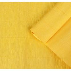 001 Гофрированная бумага, жёлтая