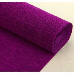 003 Бумага гофрированная, фиолетовая