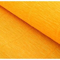 003 Бумага гофрированная, светло-оранжевая