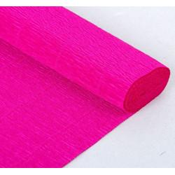 007 Бумага гофрированная,цикламен фиолетовый
