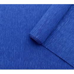 011 Бумага гофрированная тёмно-синяя