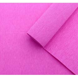 013 Бумага гофрированная антично-розовая