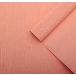 014 Бумага гофрированная светло-персиковая
