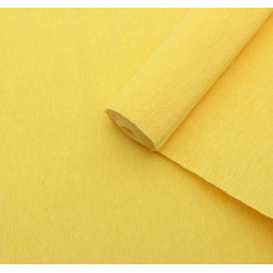 015 Бумага гофрированная лимонная
