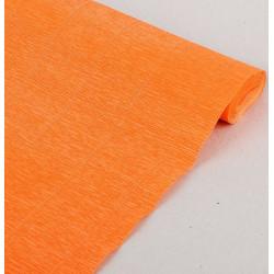 029 Бумага гофрированная, оранжевая