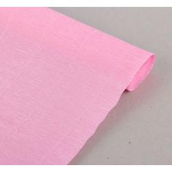 030 Бумага гофрированная, розовая