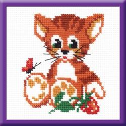 471 Котенок с ягодкой (РС-Студия)