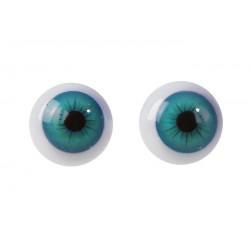 Глаза винтовые с заглушками