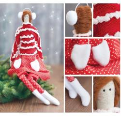 Интерьерная кукла «Софинка», набор для шитья