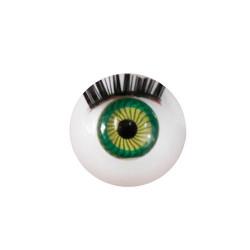 Глазки с ресничками круглые, 12мм