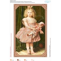 В271  Девочка с куклой