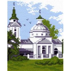 481 Канва с рисунком Церковь (Матренин посад)