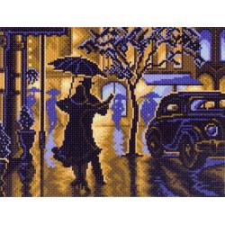 "1469 Канва с рисунком ""Танец под дождем""( Матренин посад)"