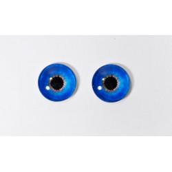 Г-014 Глазки стеклянные 15мм