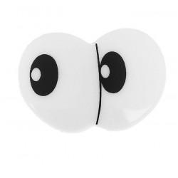 3361 Глаза винтовые сдвоенные, с заглушками