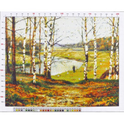 780 Рисунок на канве «Волков Ефим. Октябрь»