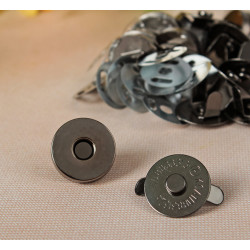 Кнопки магнитные, чёрные