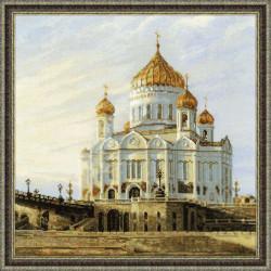 1371 «Москва. Храм Христа Спасителя»  (Риолис)