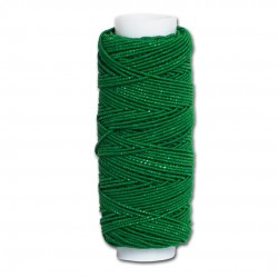 Нитка-резинка (спандекс) зелёная