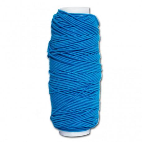 Нитка-резинка (спандекс) васильковая