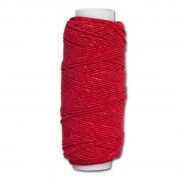 Нитка-резинка (спандекс) красная