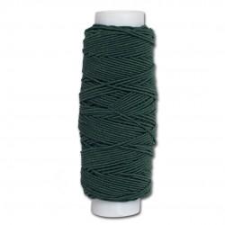 Нитка-резинка (спандекс) тёмно-серо-зелёный