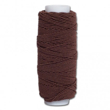 Нитка-резинка (спандекс) коричневая